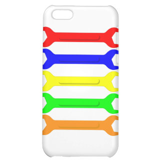 Multi-Coloured Spanners iPhone 5C Cover