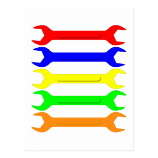 Multi-Coloured Spanners Postcard