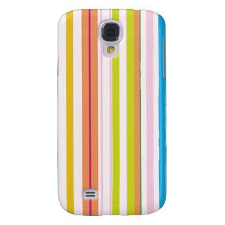 Multi Coloured Stripes Galaxy S4 Case