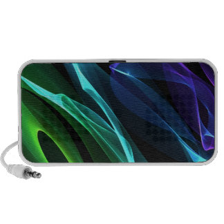 Multi Coloured swirls doodle speaker