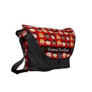Multi-Cultural Children Commuter Bag