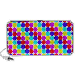 MULTI-DOTS (a polka dot design) ~ Travel Speakers