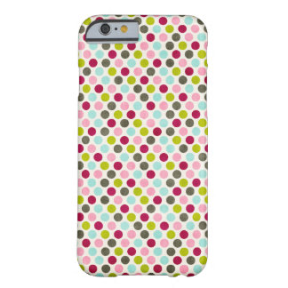Multi Dots Skin Barely There iPhone 6 Case