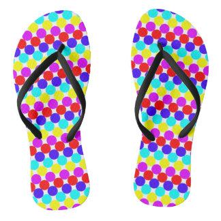 MULTI-DOTS too ~.png Flip Flops