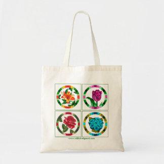 Multi Floral Tote Budget Tote Bag