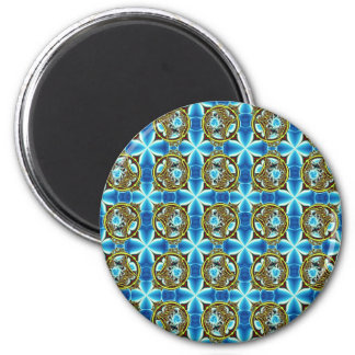 multi geometric products 6 cm round magnet