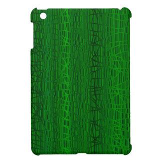 Multi Green Colour Background Cover For The iPad Mini
