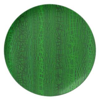 Multi Green Colour Background Plate