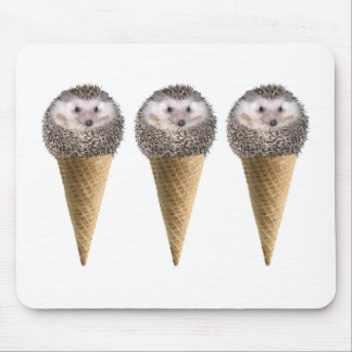 Multi Hedgie  Scoops Mouse Pad
