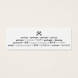 Multi Language Geology Small Card