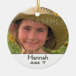 Multi-Photo Family Christmas Ornament