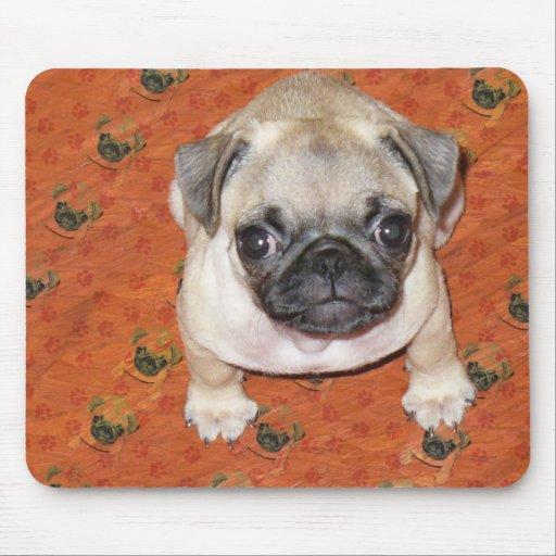 Multi Pug Puppy Mousepads