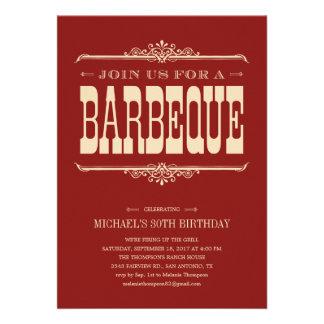Multi-Purpose Barbeque Party Invitations