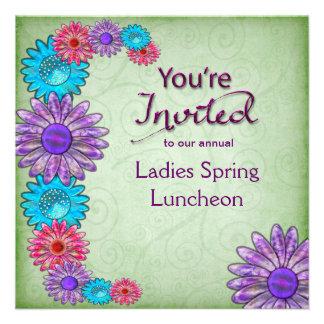 MULTI-PURPOSE INVITATION -FLOWERS - YOU RE INVITED CUSTOM INVITES
