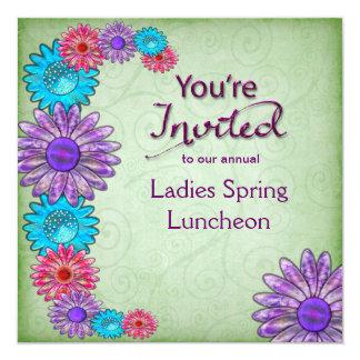 MULTI-PURPOSE INVITATION -FLOWERS - YOU'RE INVITED