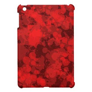 Multi Red Splatter iPad Mini Cases