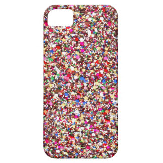 Multi Sequins Reds Sparkle Glitter Bling iPhone 5 Barely There iPhone 5 Case