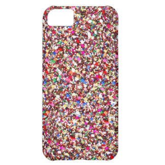 Multi Sequins Reds Sparkle Glitter Bling iPhone 5 iPhone 5C Case