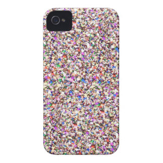 Multi Sequins Sparkle Glitter iPhone 4 Cover