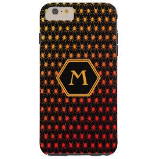 Multi spiders fiery on black 6/6s Monogram Tough iPhone 6 Plus Case