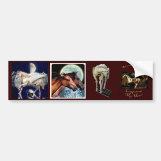 Multi-stickers 9 EQUINE Set Bumper Sticker