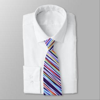 Multi Stripe Fractal Tie
