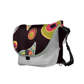 Multi Swirl Messenger Bags