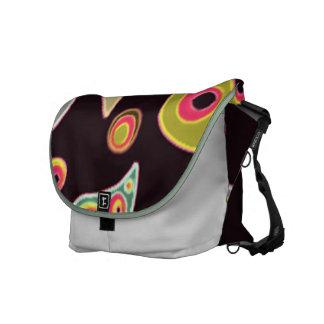 Multi Swirl Messenger Bag