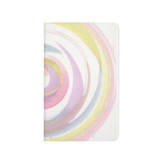 Multi Swirl Watercolor Journal