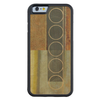 Multi-textured Abstract Painting by Vision Studio Carved® Maple iPhone 6 Bumper