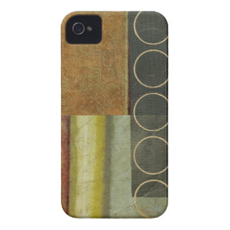 Multi-textured Abstract Painting by Vision Studio iPhone 4 Case-Mate Cases