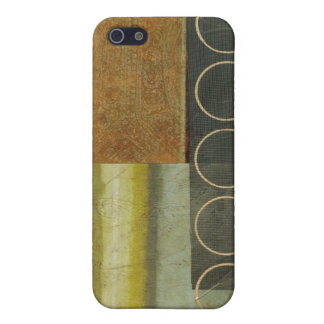 Multi-textured Abstract Painting by Vision Studio iPhone 5 Cover