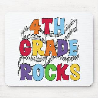 Multicolor 4th Grade Rocks Mouse Pad