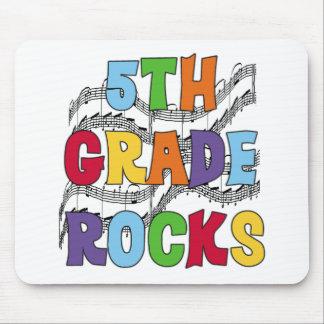 Multicolor 5th Grade Rocks Mouse Pad