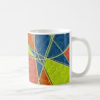 Multicolor Abstract Mug