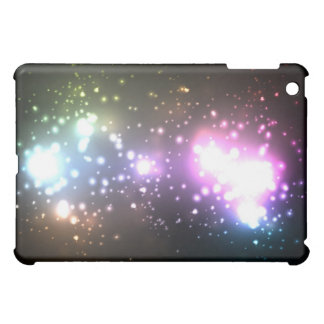 Multicolor Abstract Particles iPad Mini Cover
