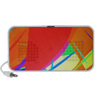 Multicolor Abstract Mini Speaker