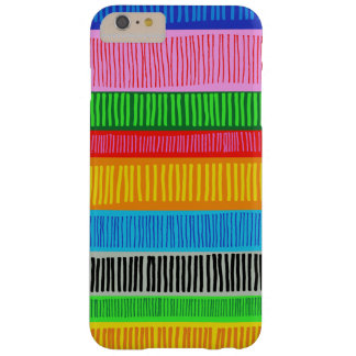 multicolor barely there iPhone 6 plus case