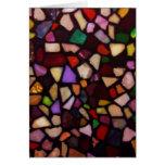 Multicolor Black Mosaic