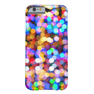 Multicolor Bokeh Barely There iPhone 6 Case