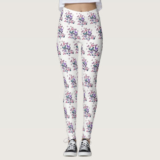 MULTICOLOR BUTTERFLIES LEGGINGS