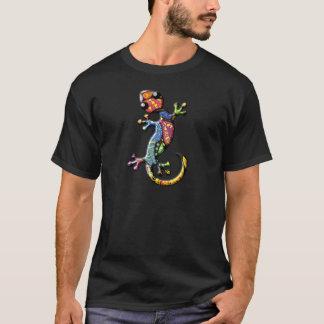 Multicolor Calico Climbing Gecko Lizard T-Shirt