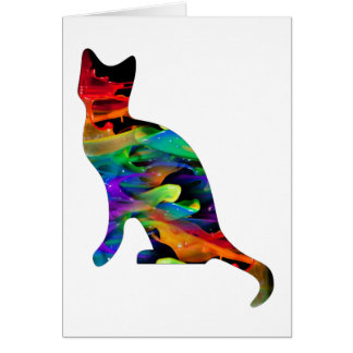 MULTICOLOR CAT PRODUCTS CARDS
