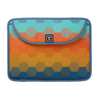 Multicolor Chevron Seamless Pattern 4 Sleeve For MacBooks