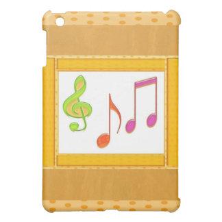 Multicolor Dancing Music Symbols Case For The iPad Mini