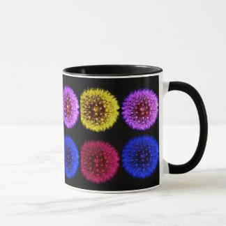 Multicolor Dandelions Mug