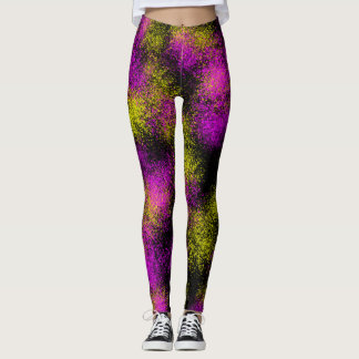 Multicolor Design Leggings