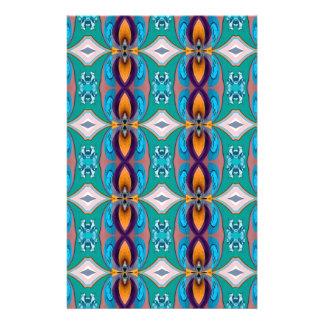 Multicolor Elegant Chains  Design 14 Cm X 21.5 Cm Flyer