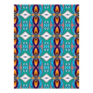 Multicolor Elegant Chains  Design 21.5 Cm X 28 Cm Flyer