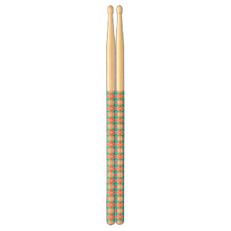 Multicolor Ethnic Pattern Drumsticks
